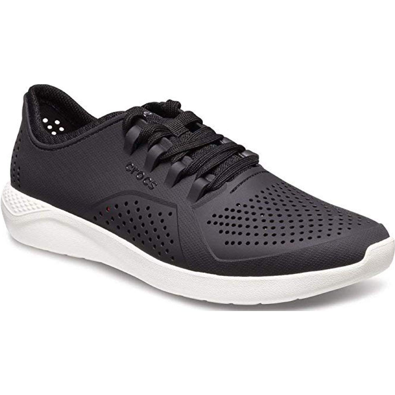 CROCS men's literide pacer Negro / blanco Zapatillas Fashion