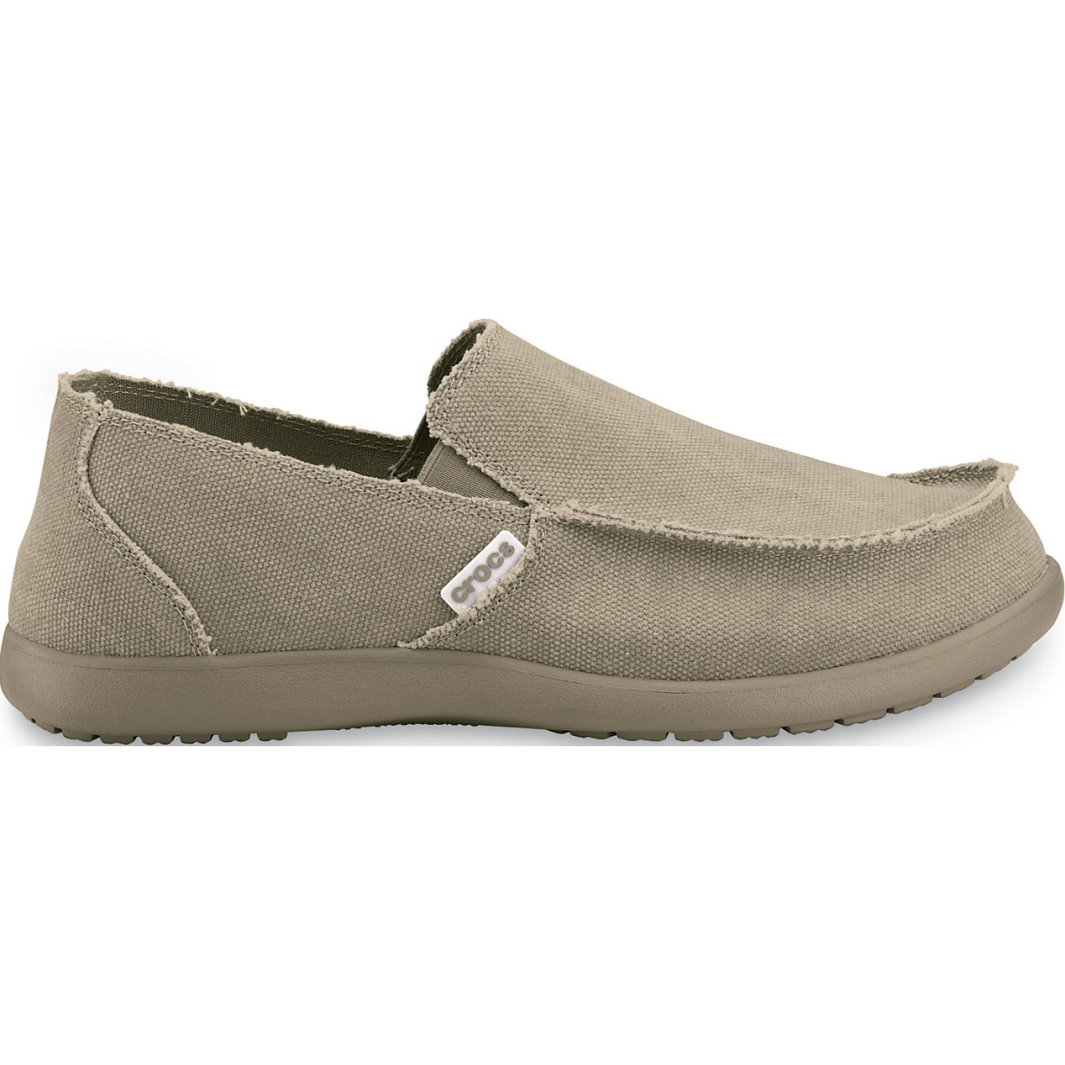 CROCS Men's Santa Cruz Slip-On Kaki Oxfords