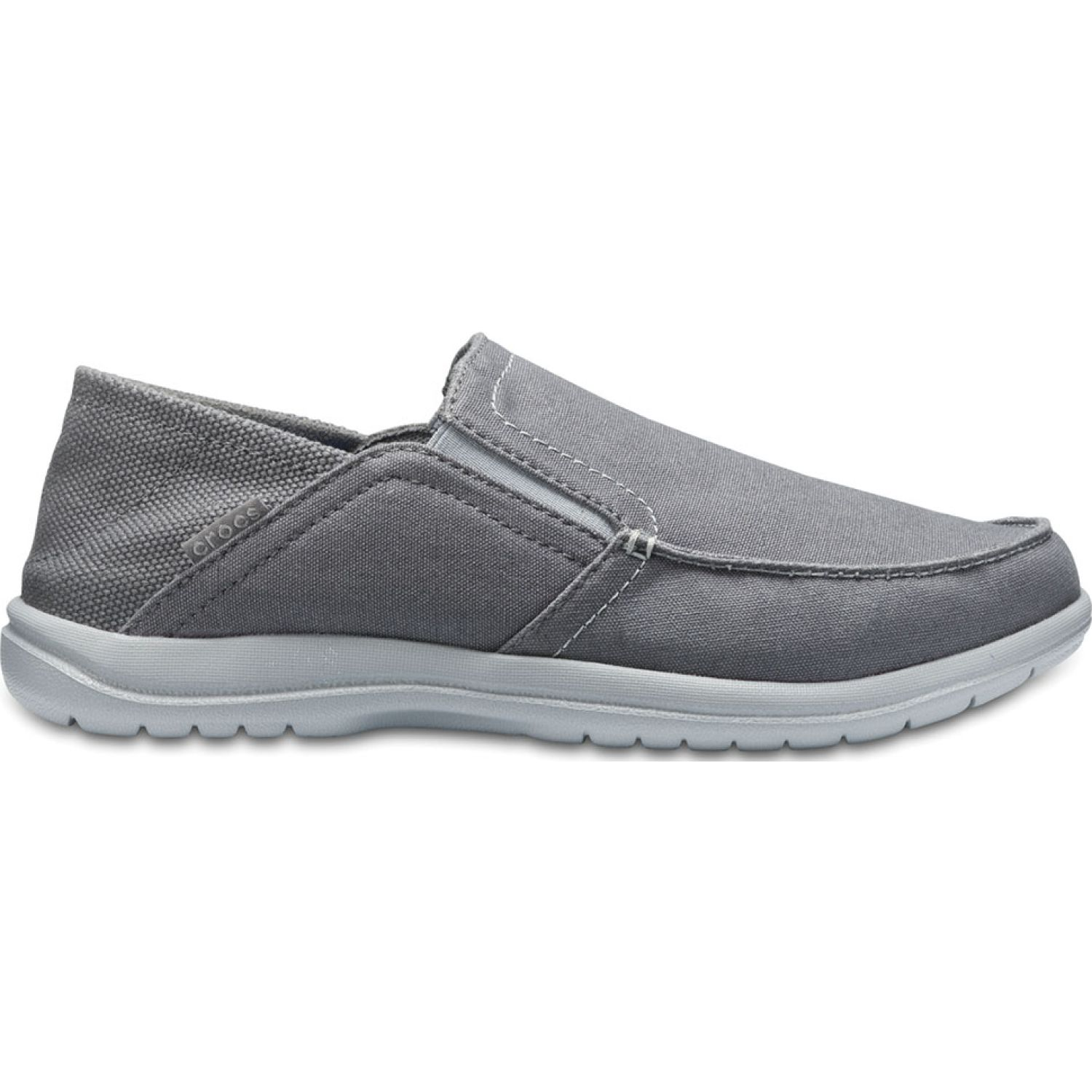 CROCS men's santa cruz convertible slip-on Plomo Oxfords