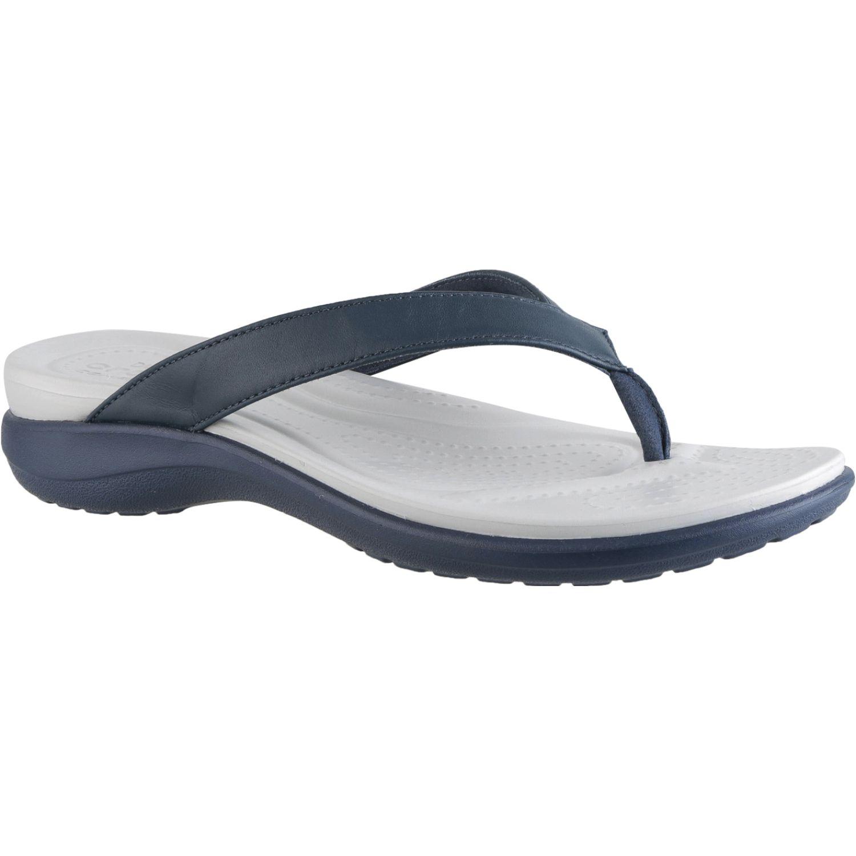 CROCS Women'S Capri V Flip Negro Flats