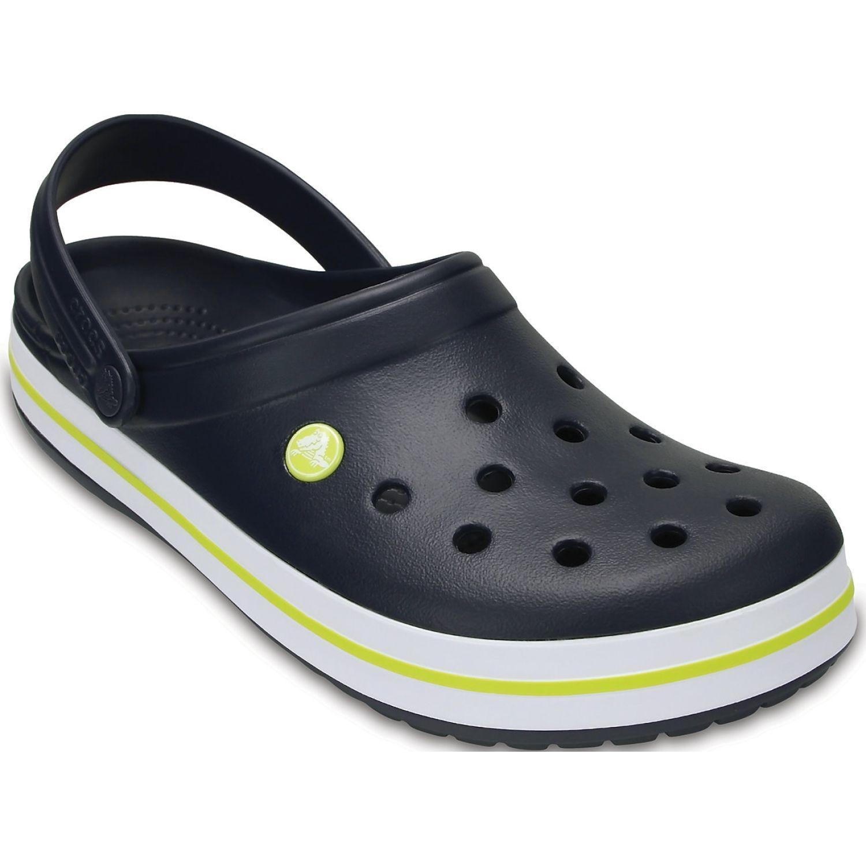 CROCS Crocband Clog Azul / amarillo Flats