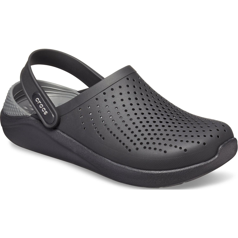 CROCS literide clog Negro Flats
