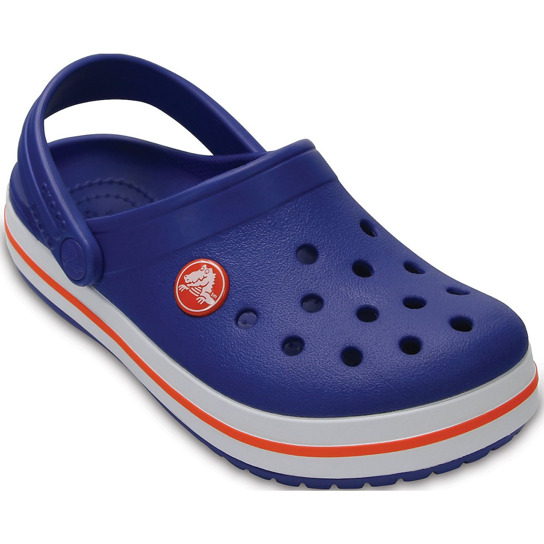 CROCS kids' crocband clog Azul / blanco Sandalias