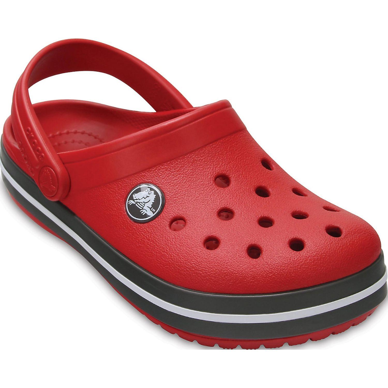 CROCS Kids' Crocband Clog Rojo / negro Sandalias