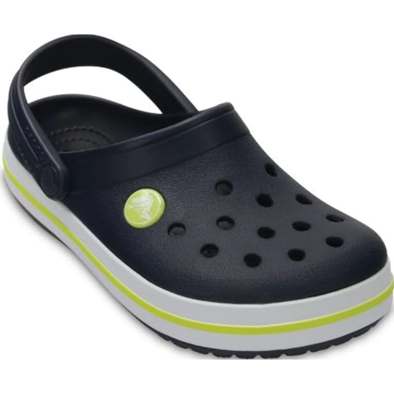 CROCS Kids' Crocband Clog Azul / amarillo Sandalias