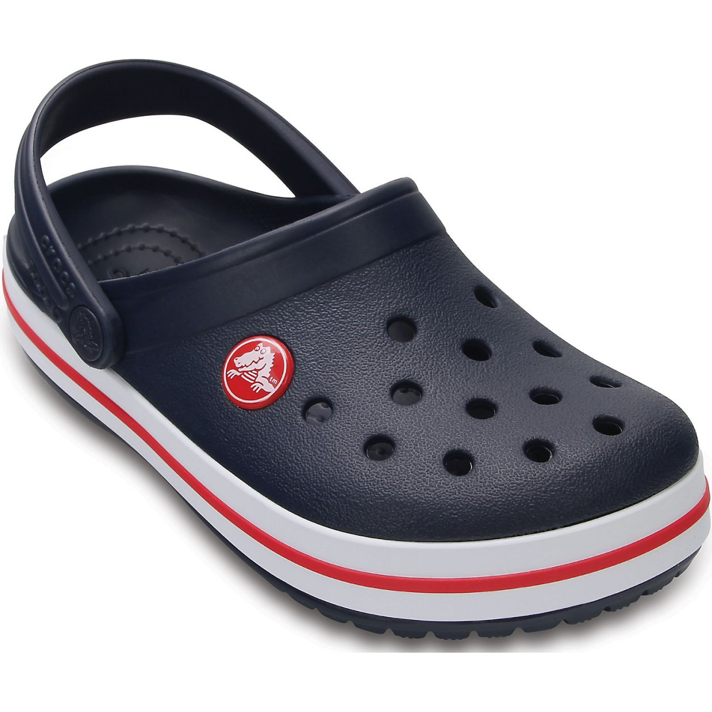 CROCS kids' crocband clog Azul / rojo Sandalias
