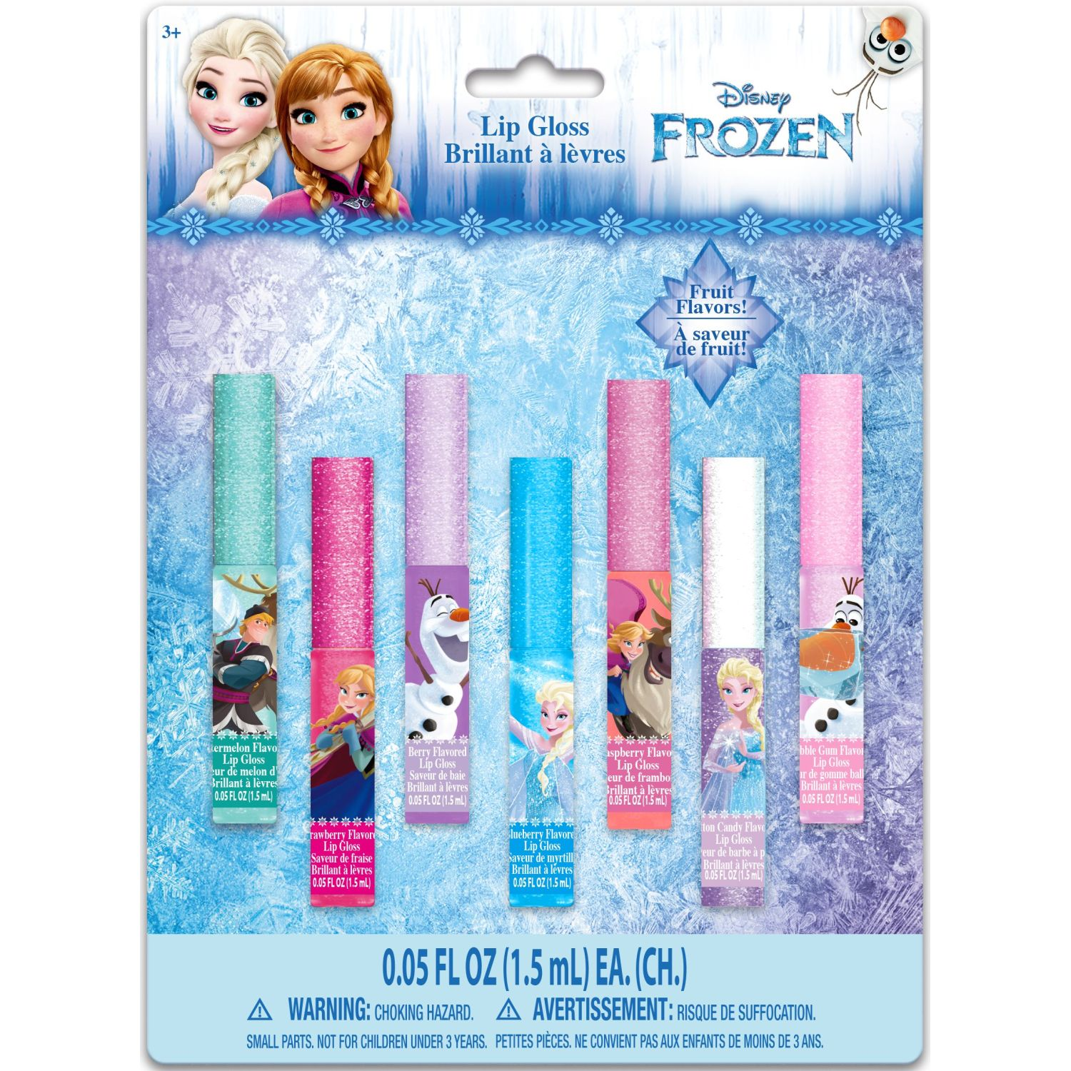 Frozen pack x7 - brillo labial  - frozen Varios brillos de labios