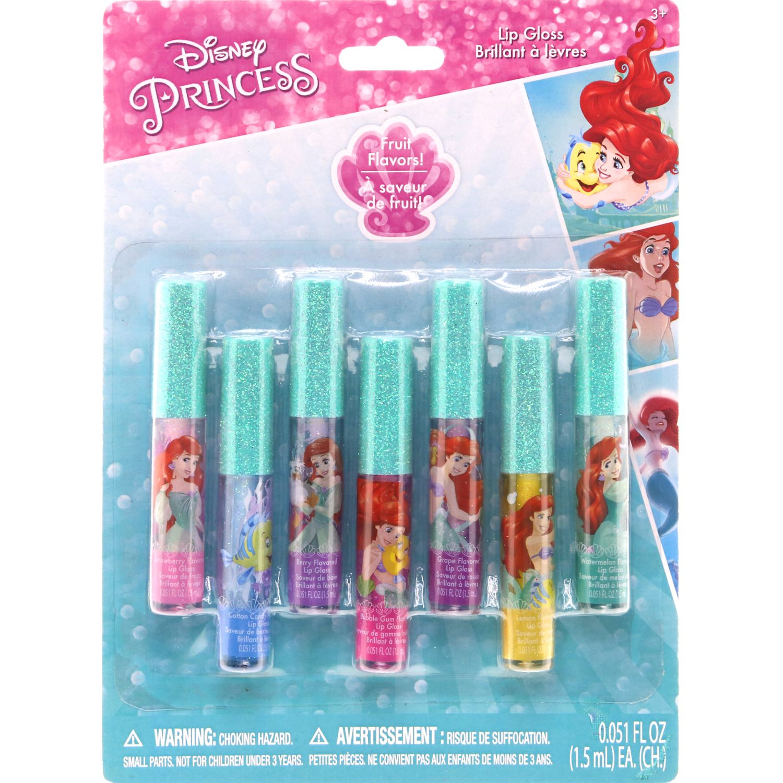 ARIEL packx7disney princes brillo lab ariel Varios brillos de labios