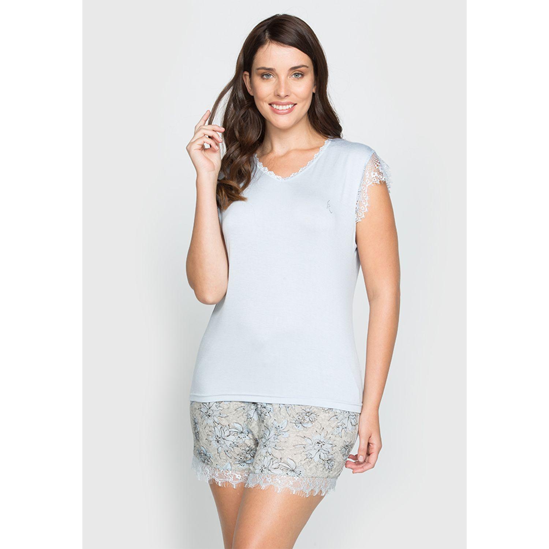 Kayser 70.752 Celeste Pijamas y Camisetas de Dormir