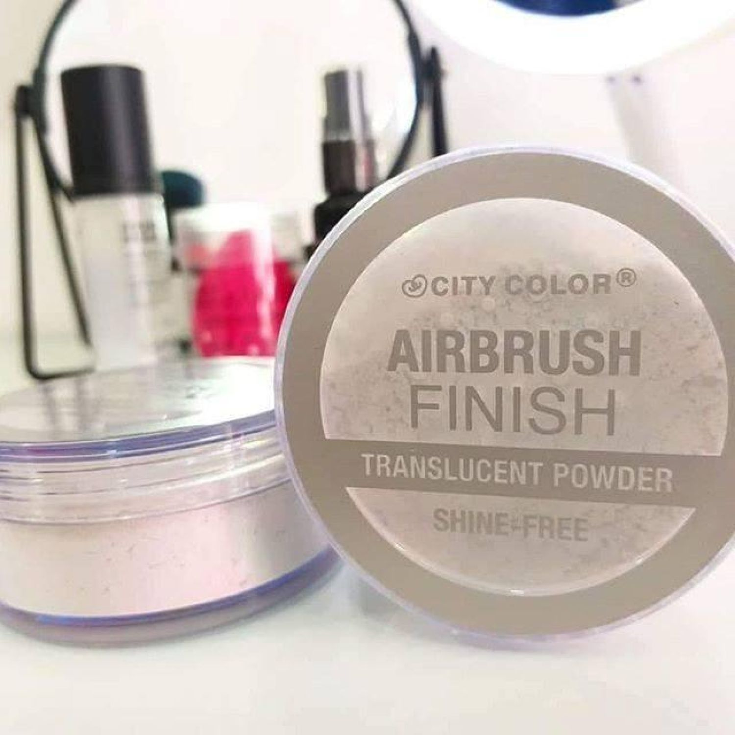 City Color Airbrush Powder Translucent Maquillaje en polvo