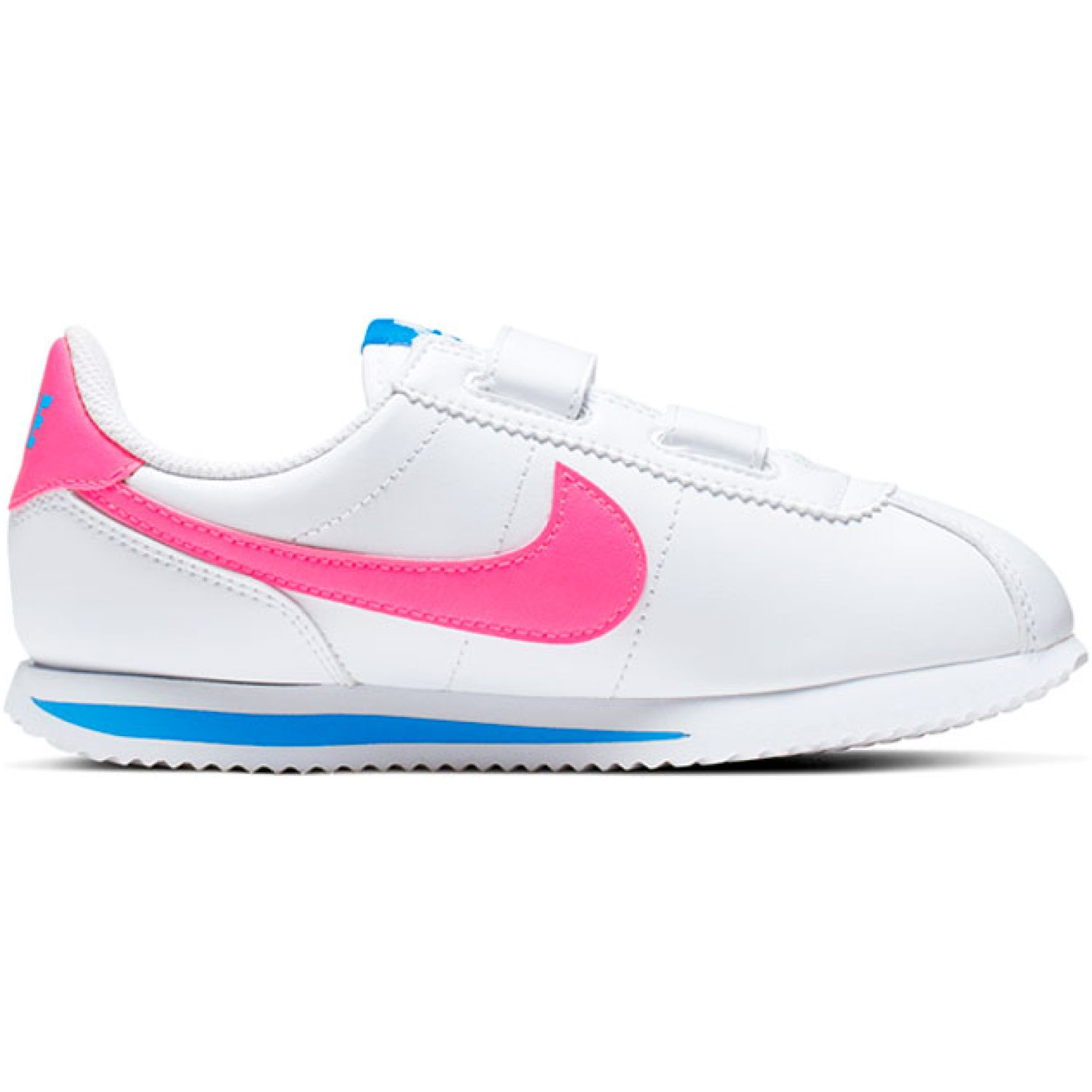 Nike cortez basic sl bpv Blanco / fucsia Walking