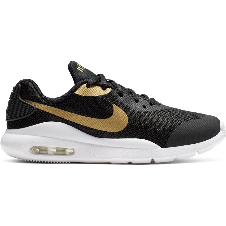Nike nike air max oketo vtb gg Negro / dorado Fitness y Cross-Training