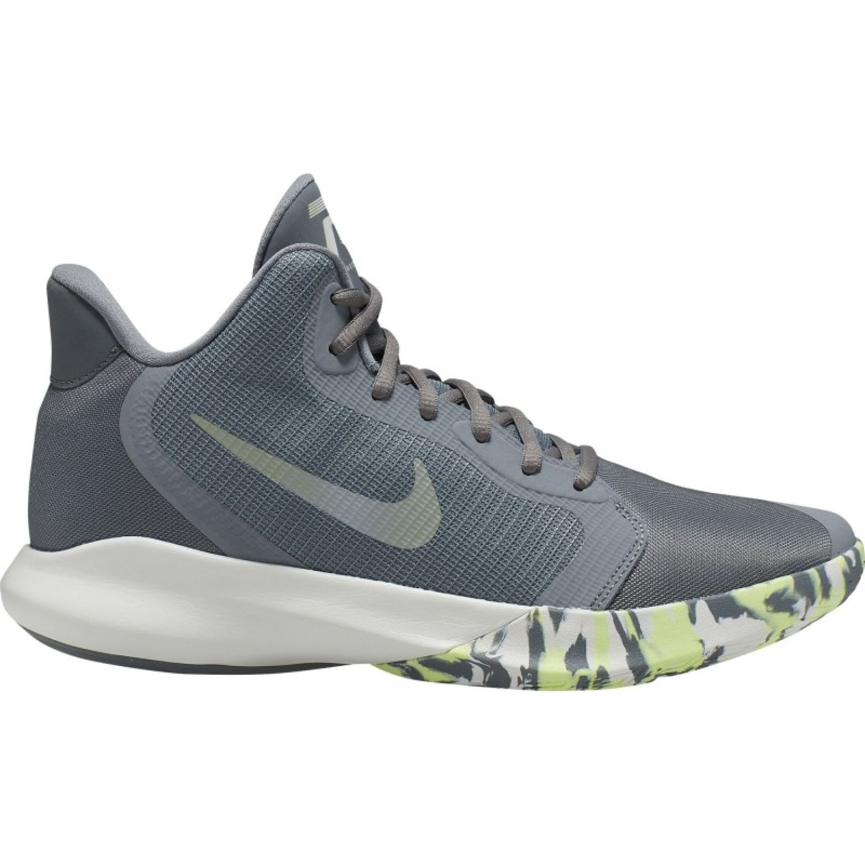 zapatilla baloncesto nike precision 3 gris