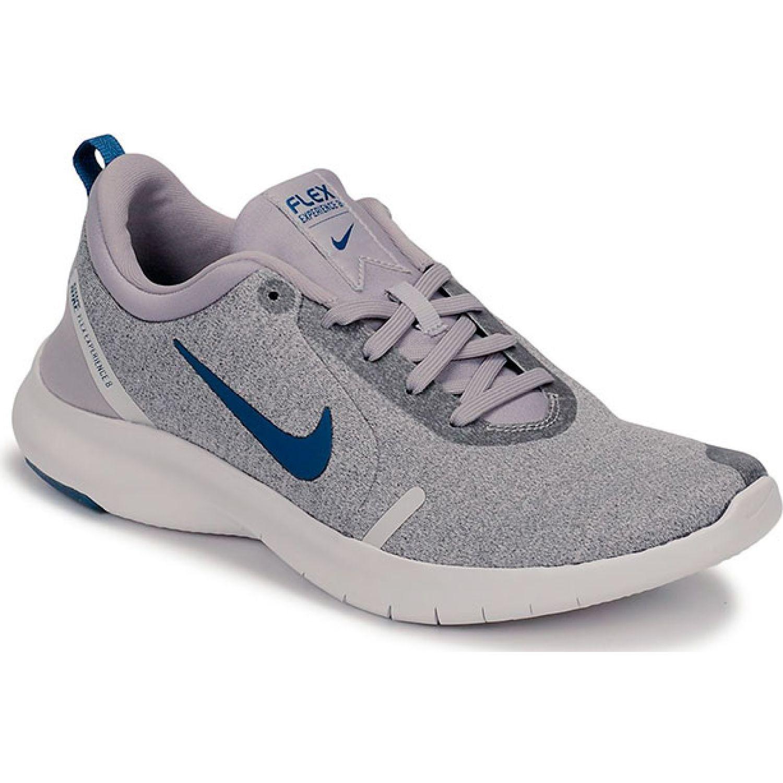 Nike Nike Flex Experience Rn 8 Gris / azul Calzado de correr