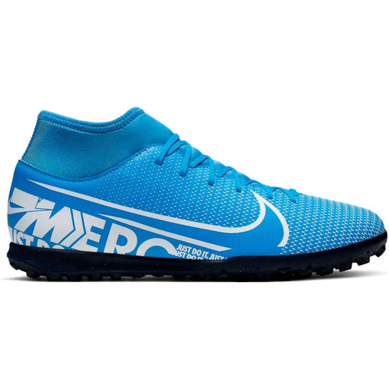 Nike Superfly 7 Club Tf Celeste / blanco Hombres