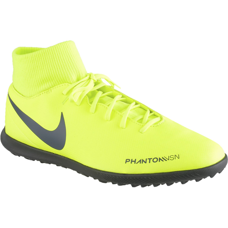 Nike phantom vsn club df tf Verde Limon Hombres