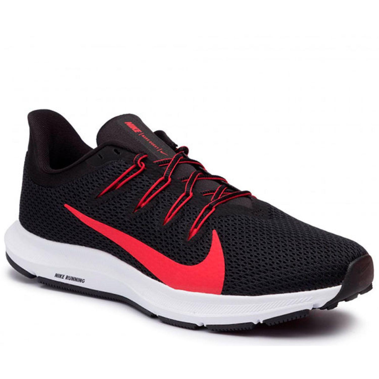 Nike NIKE QUEST 2 Negro / rojo Trail Running | platanitos.com