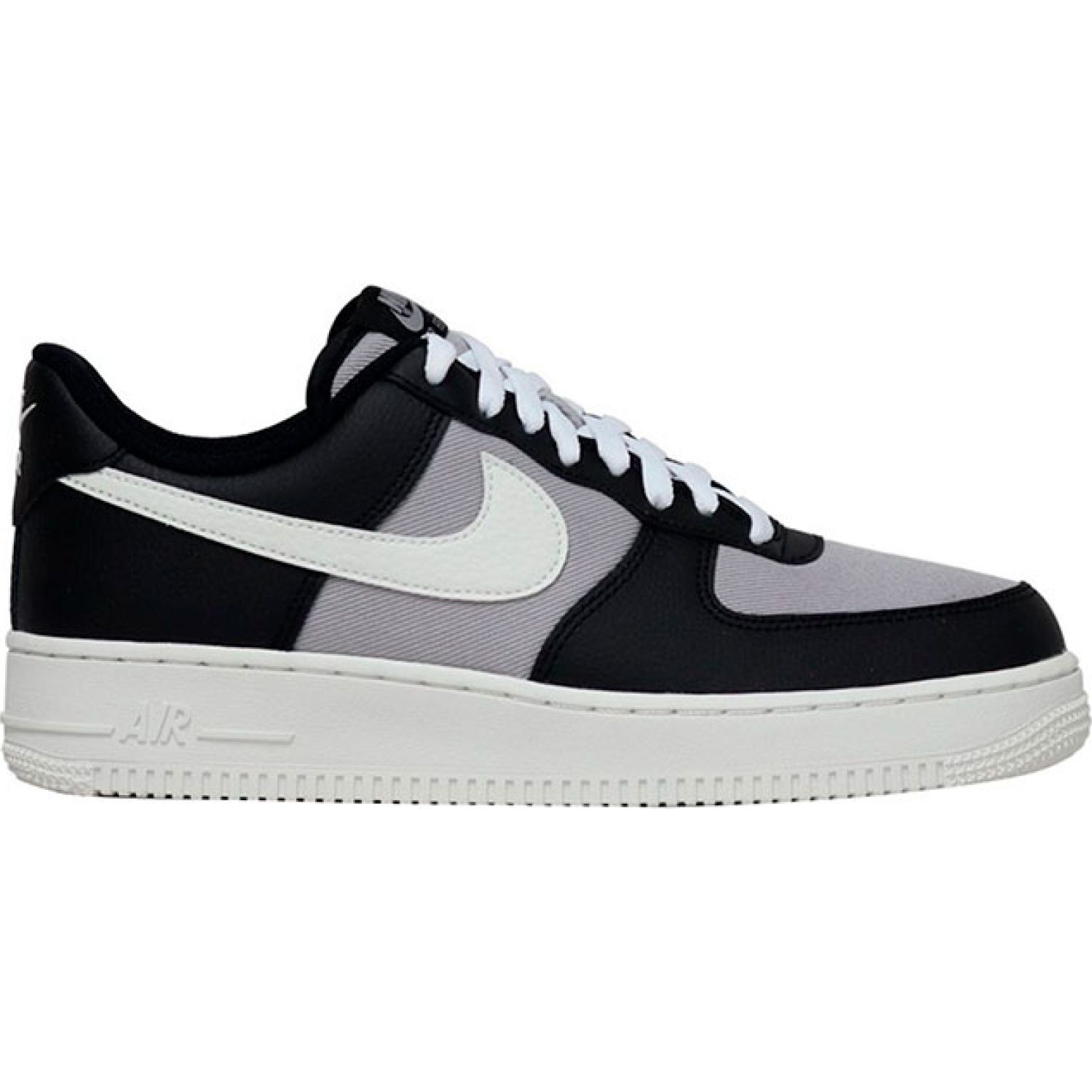 Nike air force 1 07 1fa19 NEGRO / GRIS Walking