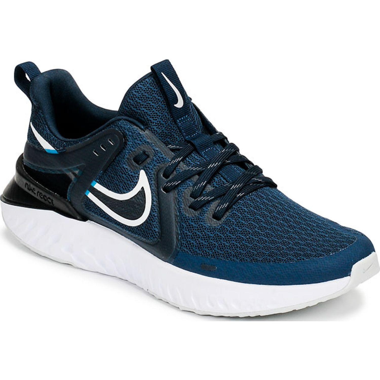 Nike Nike Legend React 2 Navy / Blanco Trail Running
