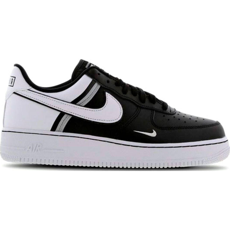 Nike air force 1 '07 lv8 2fa19 Negro / blanco Walking