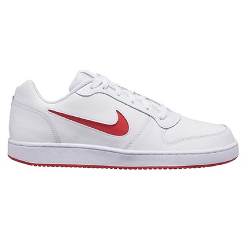 Nike NIKE EBERNON LOW Blanco / rojo Walking
