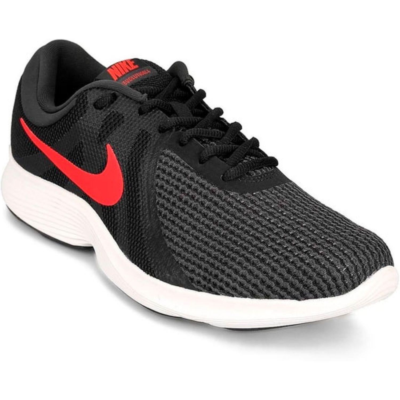 Nike NIKE REVOLUTION 4 Negro / rojo Trail Running
