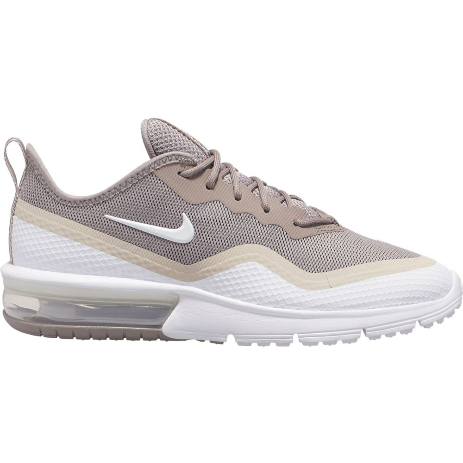 Nike WMNS NIKE AIR MAX SEQUENT 4.5 Taupe / Blanco Walking