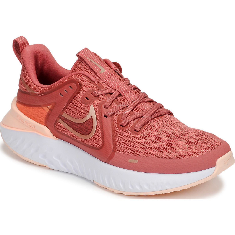 Nike WMNS NIKE LEGEND REACT 2 Rosado / blanco Trail Running