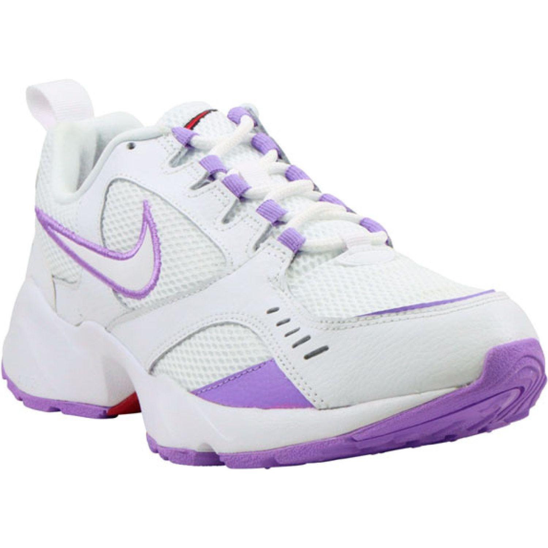 Nike wmns nike air heights Blanco / morado Walking