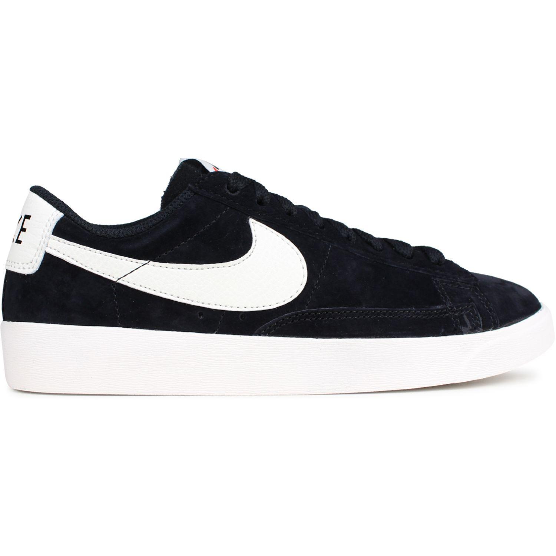 Nike W BLAZER LOW SD Negro / blanco