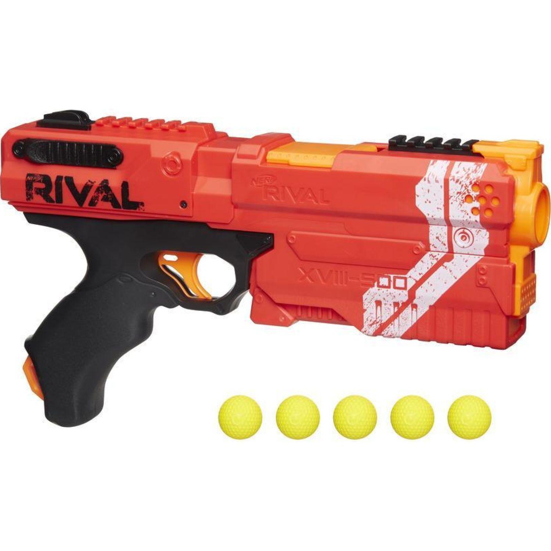 NERF ner rival kronos xviii 500 Rojo Las pistolas de agua, Blasters y maduradores