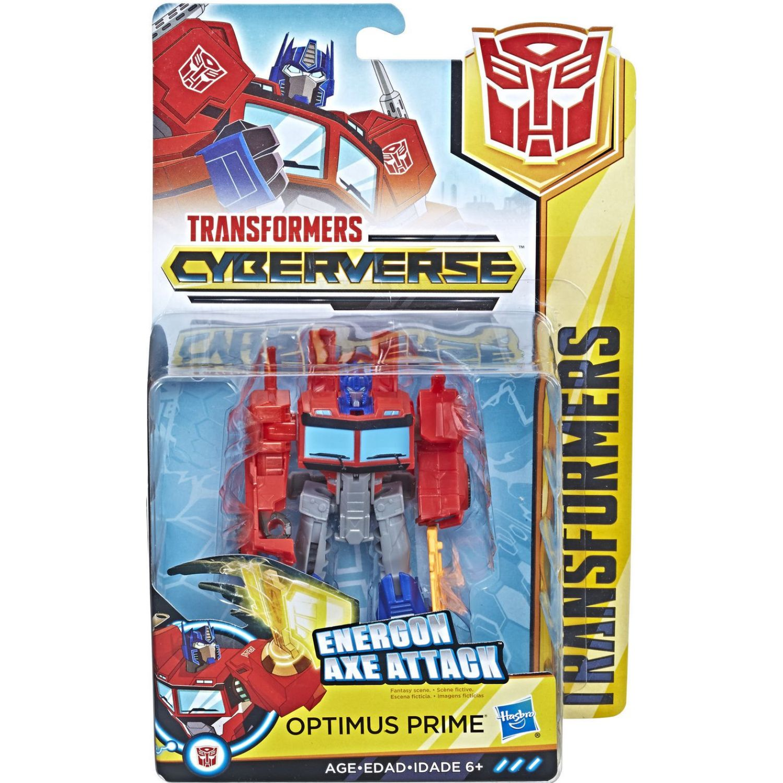 Transformers tra cyberverse warrior optimus prime Varios Figuras de acción