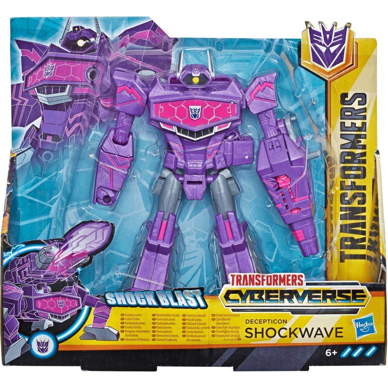 Transformers TRA CYBERVERSE ULTRA D SHOCKWAVE Varios Figuras de Acción