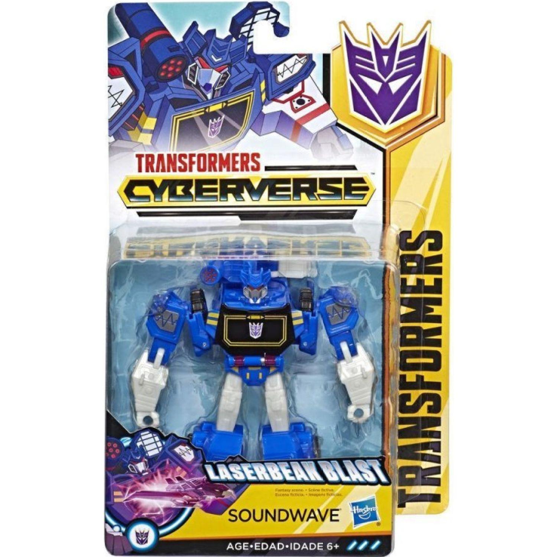 Transformers tra cyberverse warrior soundwave Varios Figuras de acción