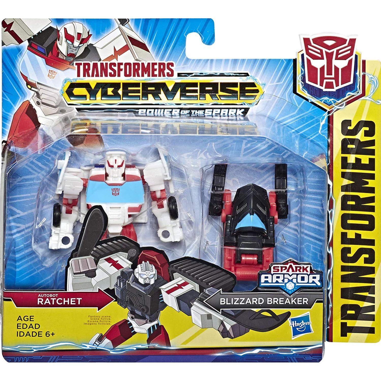 Transformers tra cyberverse spark armor ratchet Varios Figuras de acción