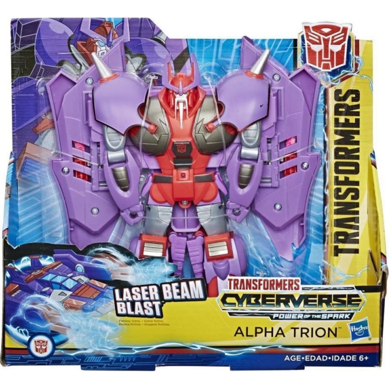 Transformers Tra Cyberverse Ultra Alpha Trion Varios Figuras de Acción