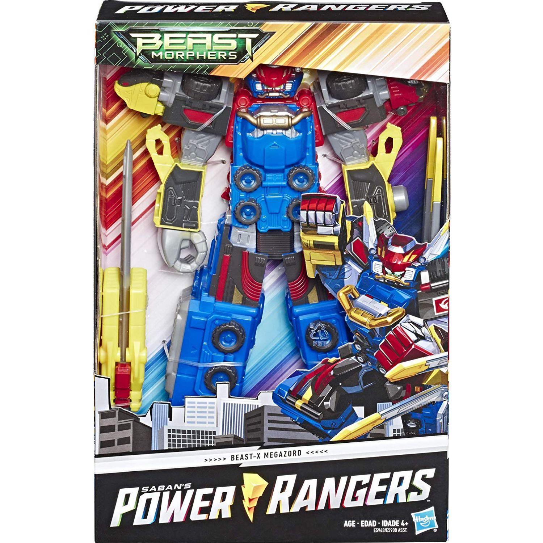 POWER RANGERS Prg 10in Bmr Beast X Megazord Varios Figuras de acción