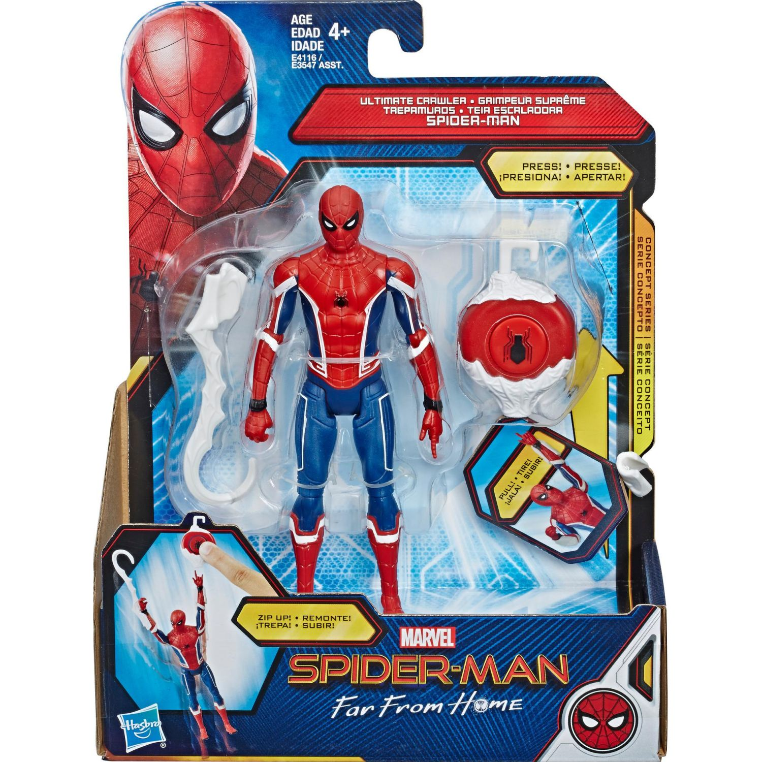 SPIDER-MAN spd ffh 6in ultimate crawler spd Varios Figuras de acción