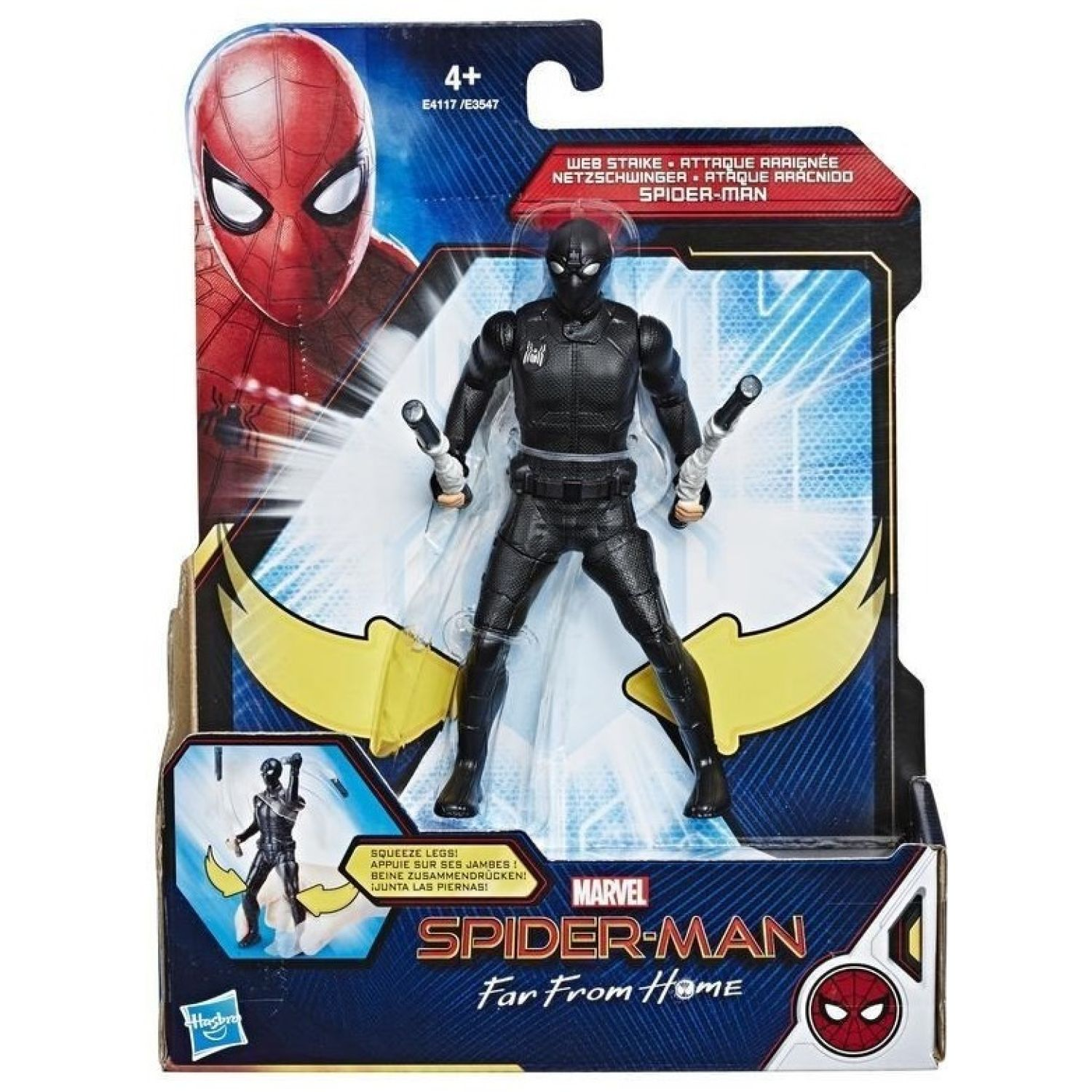 SPIDER-MAN spd ffh 6in web strike spd Varios Figuras de acción