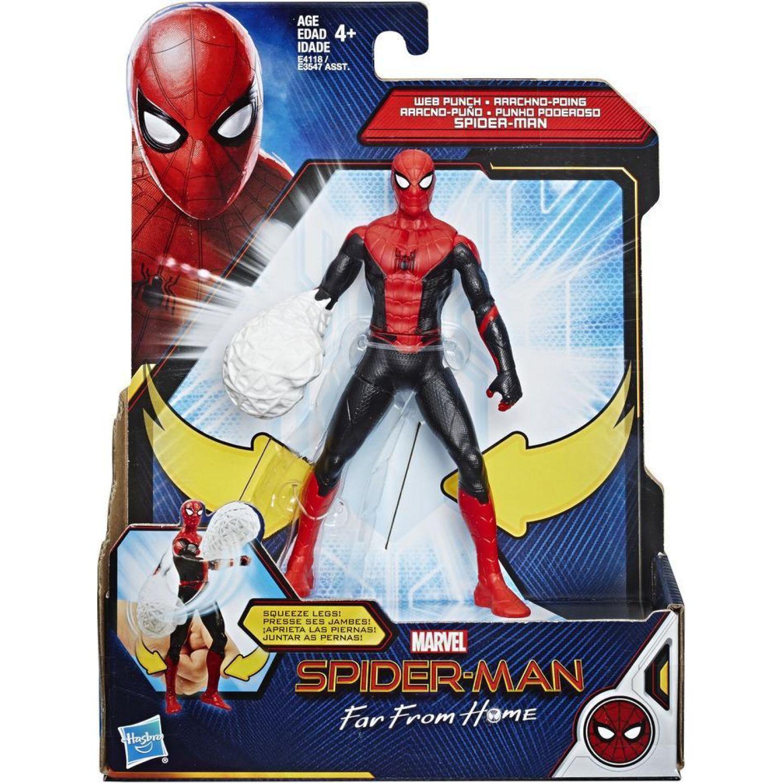 SPIDER-MAN SPD FFH 6IN FEAT HERO SUIT SPIDER-MAN Varios Figuras de acción