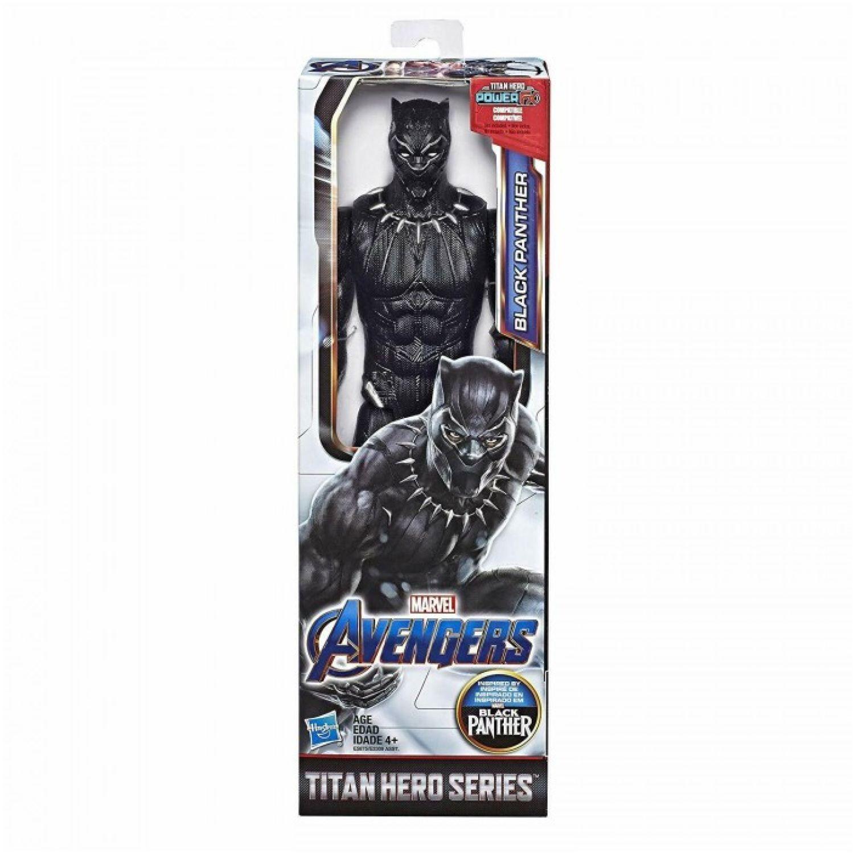 Avengers avn titan hero movie black panther Negro Figuras de acción