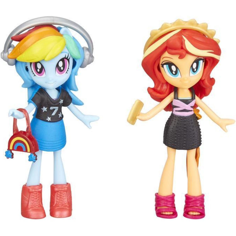 My Little Pony MLP EG BEST FRIENDS SUNSET RAINBOW DASH Varios Muñecas