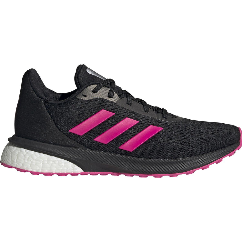 Adidas ASTRARUN W Negro / fucsia Running en pista