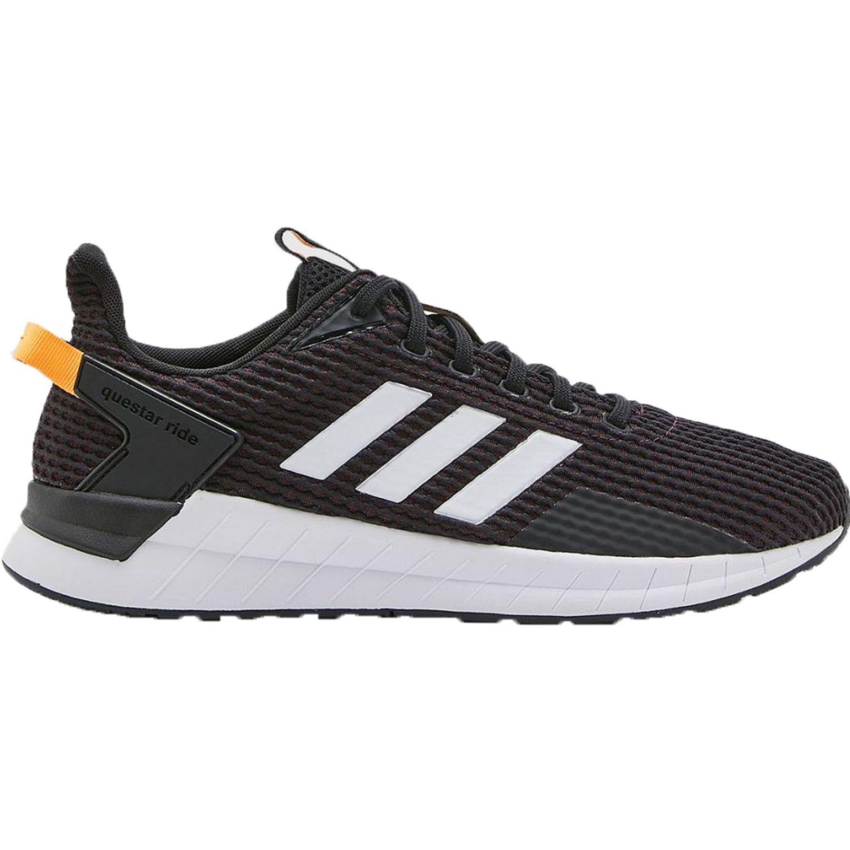 Adidas questar ride Negro / naranja Running en pista
