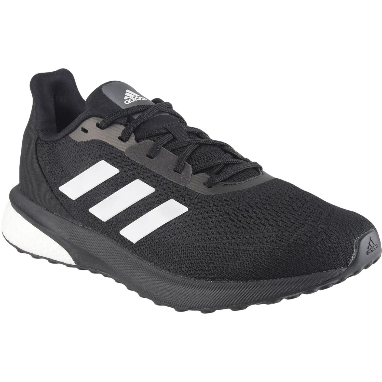 Adidas ASTRARUN M Negro / blanco Running en pista