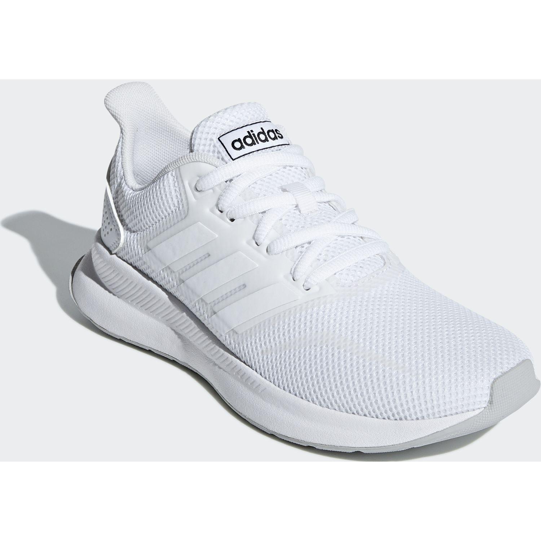 Adidas runfalcon k Blanco Chicas