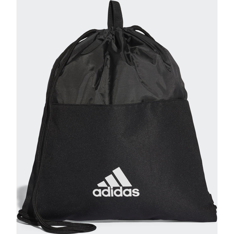 Adidas 3s gymbag Negro / blanco Mochilas Multipropósitos