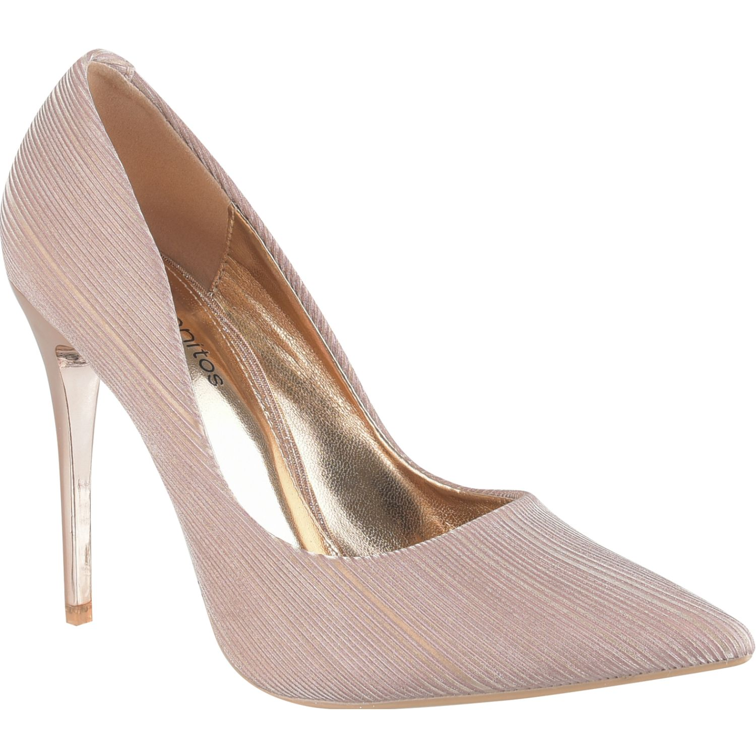 Platanitos F 1882 Rose gold Estiletos y pumps
