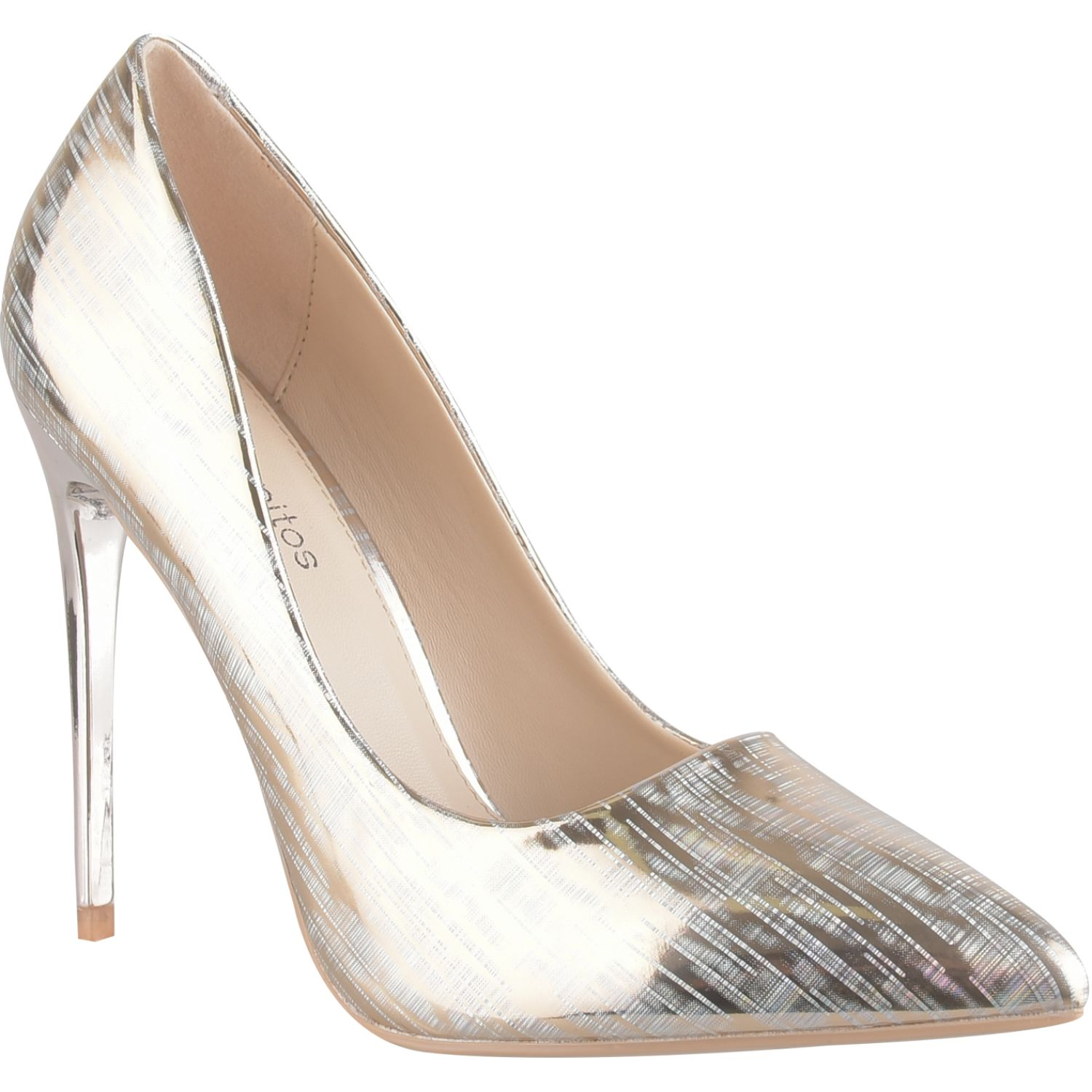 Platanitos f 5133 Rose gold Estiletos y Pumps
