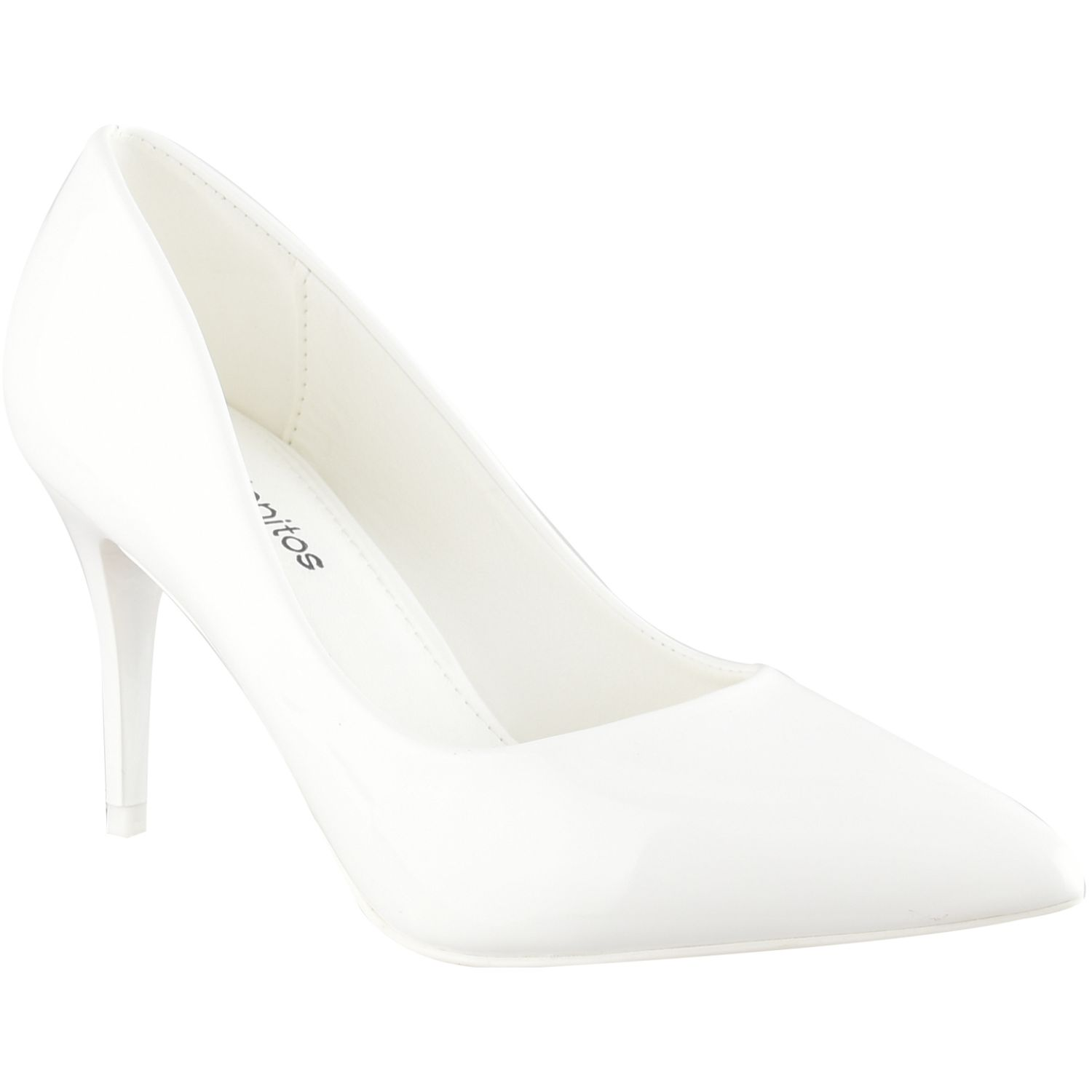 Platanitos Cv 6268-2 Blanco Estiletos y pumps